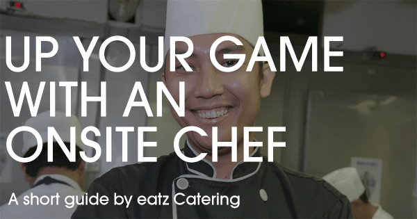 Up Your Catering Game with an Onsite Chef