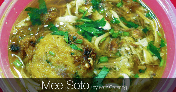 Mee Soto, Soto Mi, Soto Mie: What does it all mean?