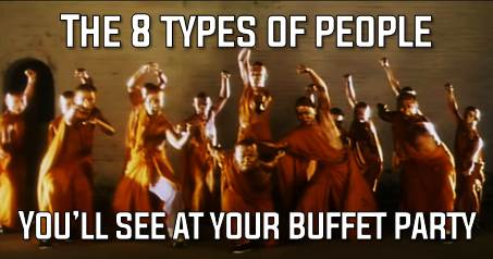 8 types of Singaporeans you'll SURELY see at your Buffet party