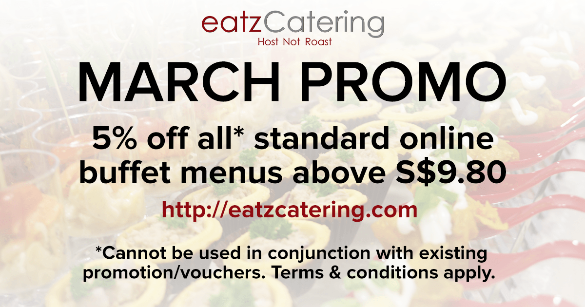 March 2016 Halal Buffet Catering Promotion!