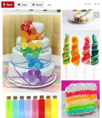 Pinterest Party Catering Ideas Rainbow