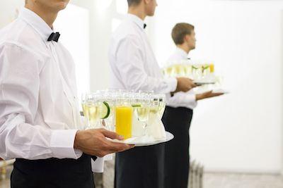 Fancy Black Tie Corporate Event