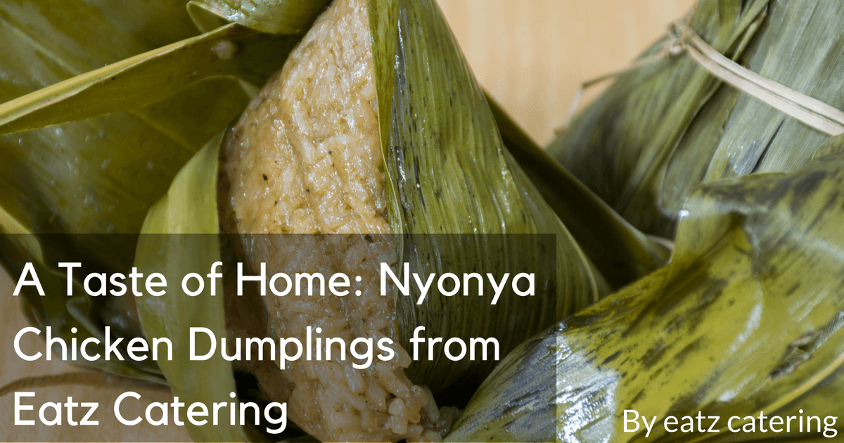A Taste of Home: Nyonya Chicken Dumplings from Eatz Catering
