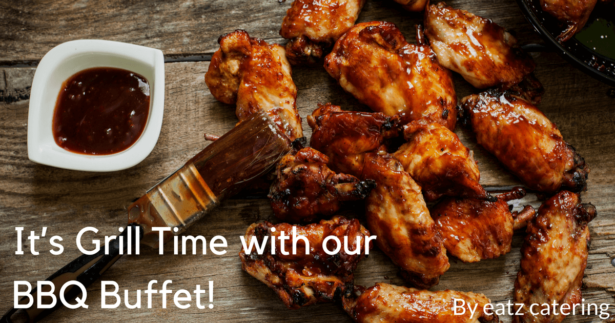 It's Grill Time with our BBQ Buffet!