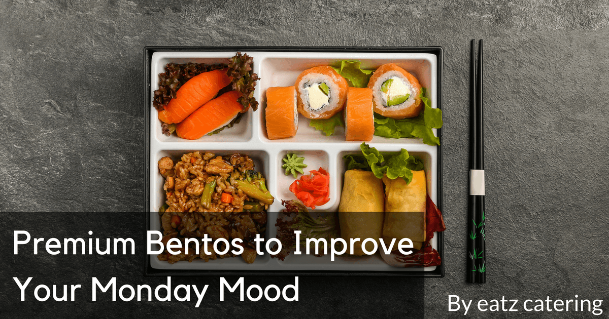 Premium Bentos to Improve Your Monday Mood