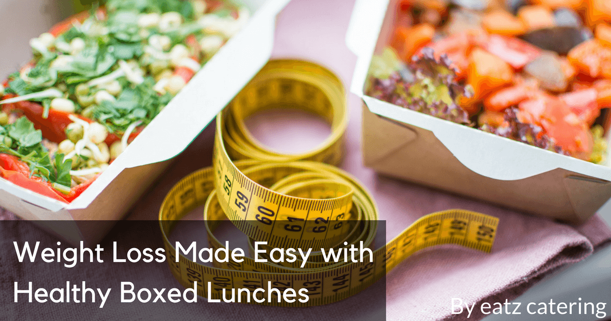 Weight Loss Made Easy with Healthy Boxed Lunches