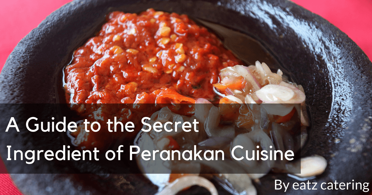 A Guide to the Secret Ingredient of Peranakan Cuisine
