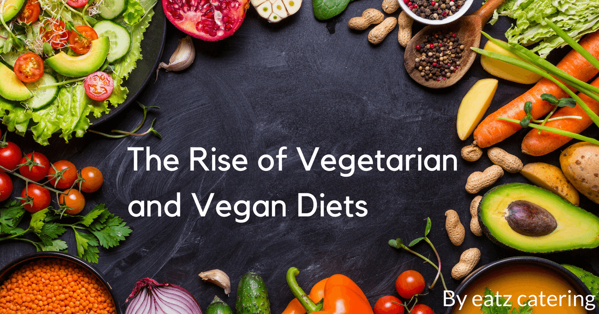 The Rise of Vegetarian and Vegan Diets