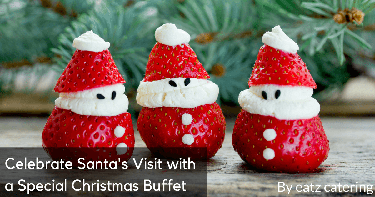 celebrate santas visit with a special christmas buffet