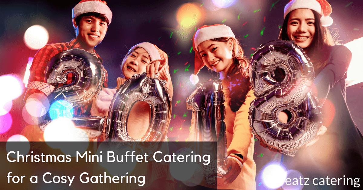 christmas mini buffet catering for a cosy gathering