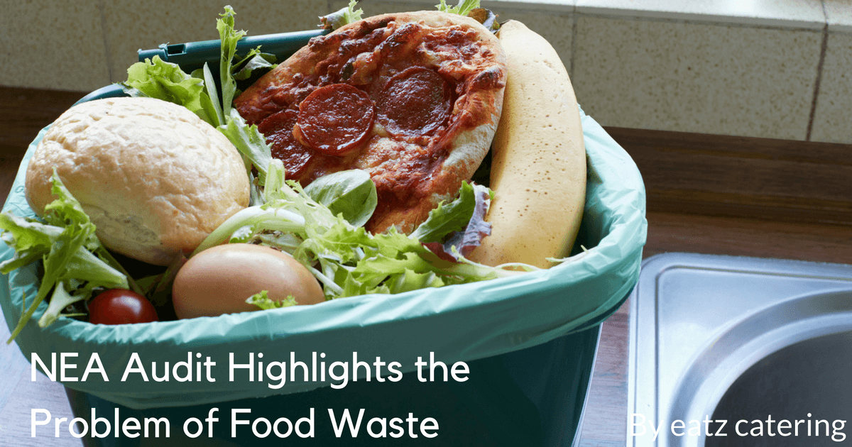 NEA audit highlights the problem of food waste