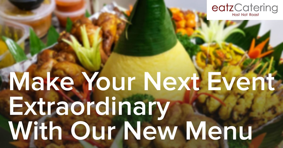 Make Your Next Event Extraordinary with Our New Menu Options!