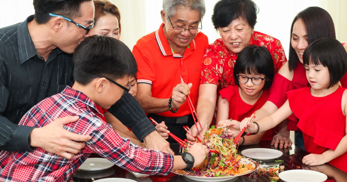 Good Singapore Catering Will Take Your Chinese New Year Party to the Next Level
