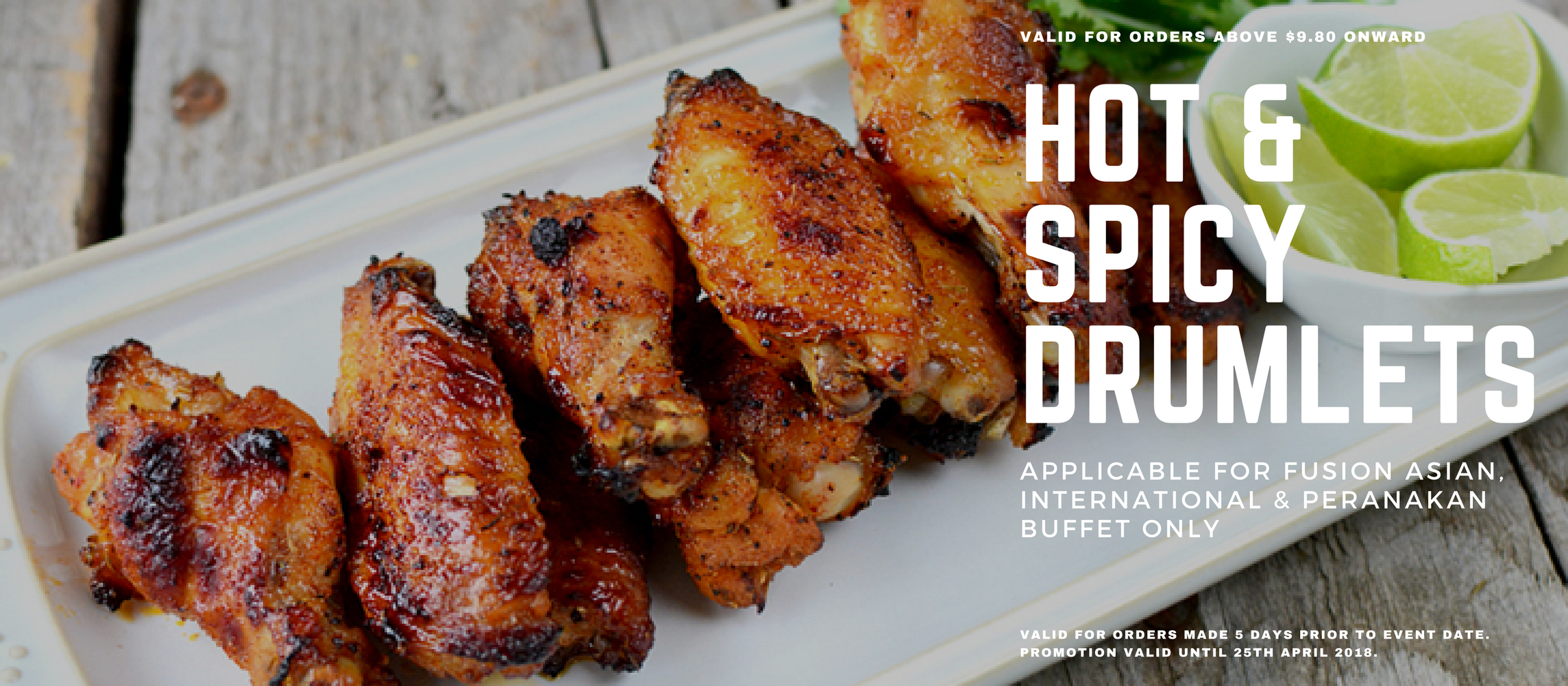 Hot & Spicy Drumlets